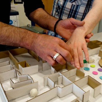 Maquette Workshop with the Visually Impaired and the Social Workers