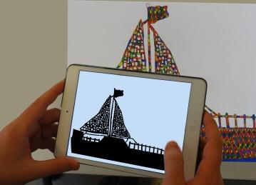 2D - Vector - 3D Conversion example