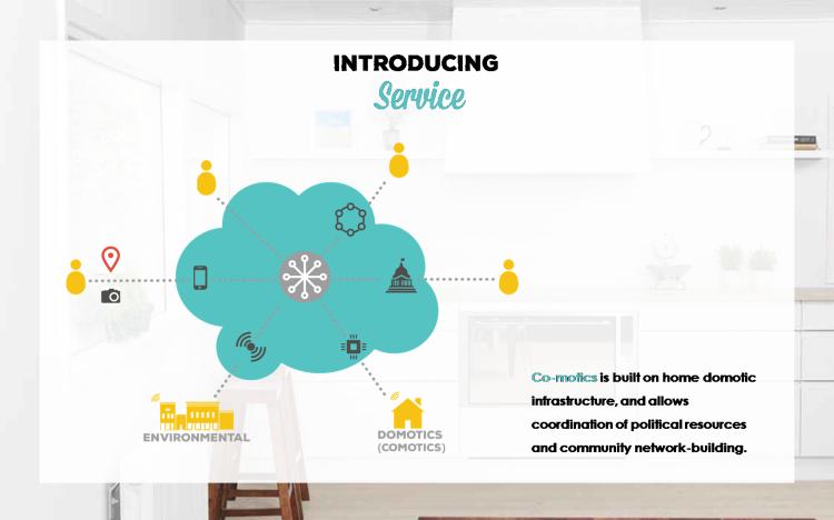 Comotics - Design of a Service