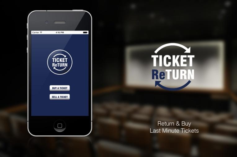 Ticket return app
